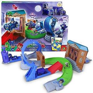 Novo Brinquedo Lacrado Pista de Rivais Pj Masks Original Dtc