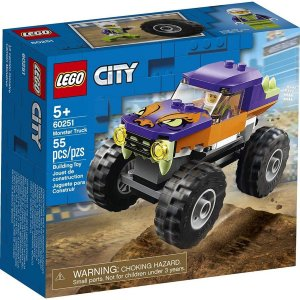 Lego City Monster Truck Caminhao Gigante com 55 Peças 60251