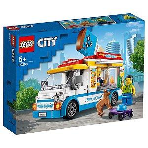 Lego City Veiculo Ice Cream Van de Sorvetes 200 Peças 60253