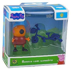 Brinquedo Miniaturas Personagens Peppa Pig Envio Aleatório