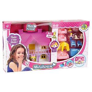 Brinquedo Mini Bonecas Conjunto Mini House Sortido Unitário