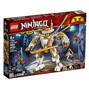 Lego Ninjago Blocos de Montar Robo Dourado 489 Peças 71702