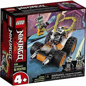 Lego Ninjago O Carro de Corrida do Cole com 52 Peças 71706