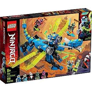 Lego Ninjago Playset O Cyber Dragao do Jay 518 Peças 71711