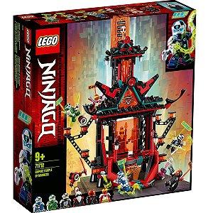 Lego Ninjago Imperio Templo da Loucura com 810 Peças 71712