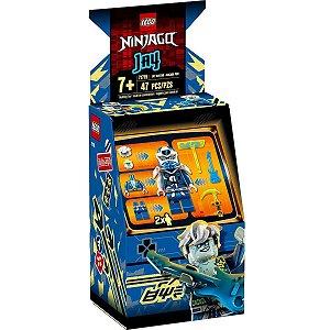 Lego Ninjago Jay Avatar e Pod de Arcade com 47 Peças 71715