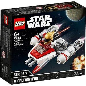 Lego Star Wars TM Microfigher Y-Wing da Resistencia 75263
