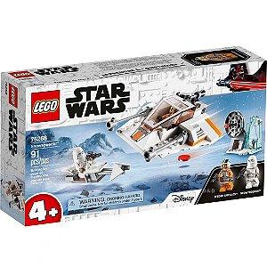 Lego Star Wars TM O Veiculo Snowspeeder com 91 Peças 75268