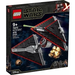 Lego Star Wars TM Nave Tie Fighter Sith com 470 Peças 75272