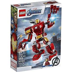 Lego Marvel Super Heroes Robo Iron Man com 148 Peças 76140
