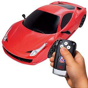 Brinquedo Carrinho De Controle Remoto 14 Funções Polimotors