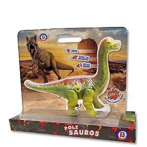 Brinquedo Dinossauro Braquiossauro Anda Sozinho Polibrinq