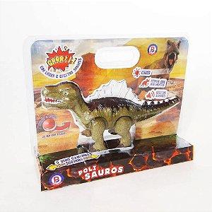 Brinquedo Dinossauro Estegossauro Anda Sozinho Polibrinq