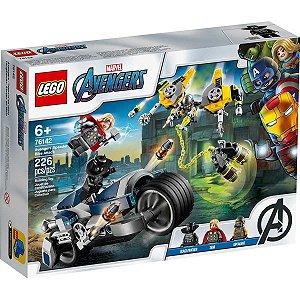 Lego Marvel Super Heroes Um Ataque com Speeder Bike 76142