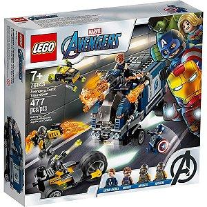 Lego Marvel Super Heroes Avengers Ataque de Caminhao 76143