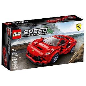 Lego Speed Champions Ferrari F8 Tributo com 275 Peças 76895