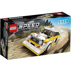 Lego Speed Champions Carro 1985 Audi Sport Quattro S1 76897