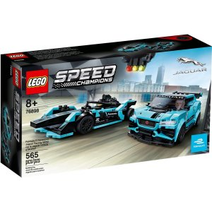 Lego Speed Champions Jaguar Racing e I-Pace eTrophy 76898