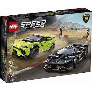 Lego Speed Champions Lamborghini Urus ST-X e Huracan 76899