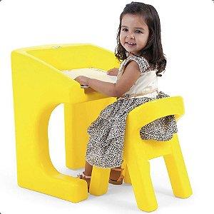 Brinquedo Playground Escrivaninha Com Cadeira Xalingo 0939.8
