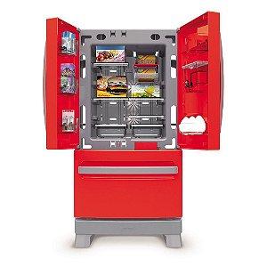 Brinquedo Refrigerador Side By Side Casinha Flor Xalingo