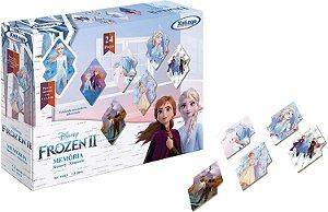Brinquedo Jogo da Memoria Frozen 2 Original da Xalingo