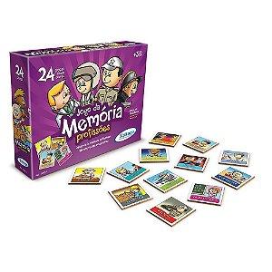 Brinquedo Jogo da Memoria Profissões Original da Xalingo