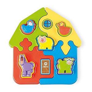 Brinquedo Quebra Cabeça Puzzle Mania Fazenda Calesita 0814