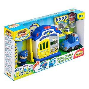 Brinquedo Infantil Policia Divertida Original da Winfun