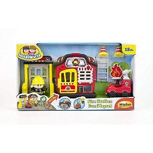Brinquedo Infantil Bombeiro Divertido Original da Winfun