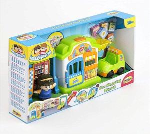 Brinquedo Infantil Supermercado Divertido Original Winfun