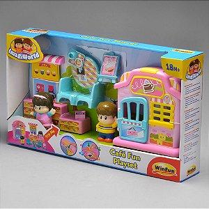 Brinquedo Infantil Café Divertido Original da Winfun