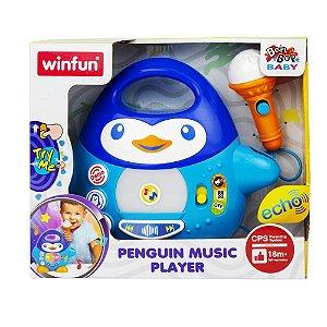 Brinquedo Infantil Pinguim Musical Original da Winfun 2514