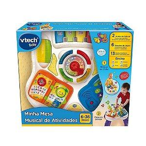 Brinquedo Minha Mesa Musical De Atividades Original Vtech