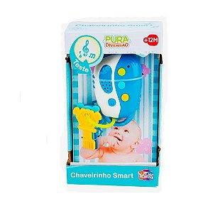 Brinquedo Pura Diversão Chaveirinho Smart Original Yestoys