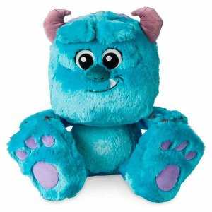 Brinquedo Pelúcia Disney Sulley Big Feet 30Cm Original Fun