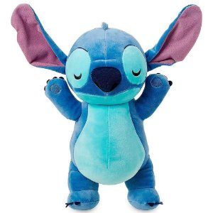 Brinquedo Pelúcia Disney Stitch Cuddleez 30Cm Original Fun