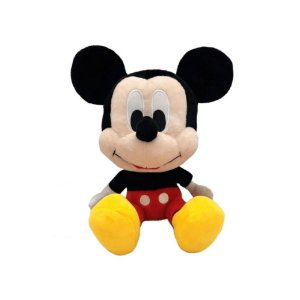 Brinquedo Pelúcia Disney Mickey Big Head 22 Cm Original Fun