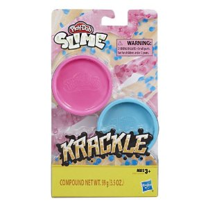 Massinha Play Doh Krackle Slime Pack de Cores Sortidas E8788