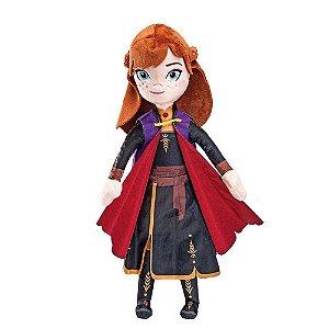 Brinquedo Pelúcia Disney Frozen Anna 35 Cm Original Fun