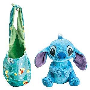 Brinquedo Pelúcia Disney Baby Stitch 25 Cm Original Fun