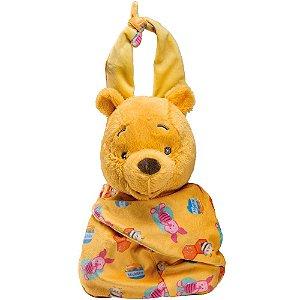Brinquedo Pelúcia Disney Baby Ursinho Pooh 25Cm Original Fun