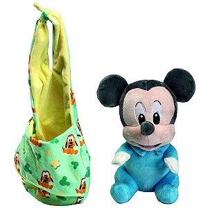 Brinquedo Pelúcia Disney Baby Mickey 25 Cm Original Fun