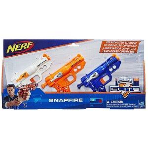 Lançador de Dardos Nerf N-Strike Pack Snapfire Hasbro B5818