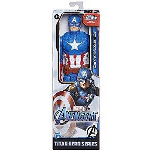 Boneco Marvel Capitao America Hero Blast Gear Hasbro E7877