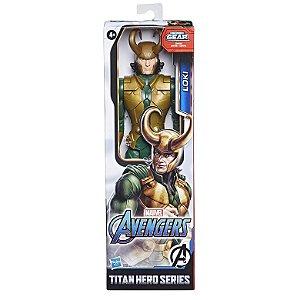 Boneco Marvel Loki Titan Hero Series Blast Gear Hasbro E7874