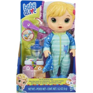 Boneca Baby Alive Loira Aprendendo Cuidar da Hasbro E6937