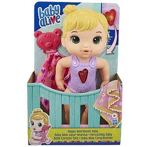 Boneca Baby Alive Bebe Coraçaozinho Loira da Hasbro E6946
