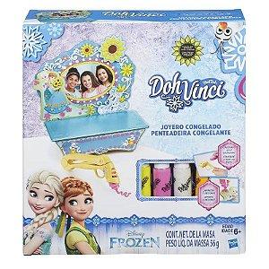 Brinquedo Doh Vinci Penteadeira da Frozen Hasbro B5512