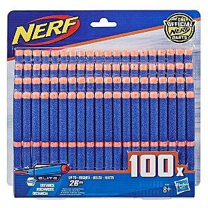 Lançador Nerf Elite Pack Refil com 100 Dardos Hasbro B1565